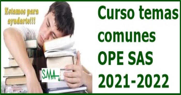 CURSO OPE 21-22